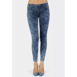 AG Super Skinny The Legging Ankle Dark Seed Jeans